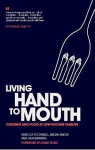 Living hand to mouth book cover